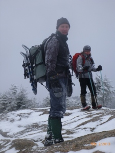 Mark and Robynn on Porter Mt.